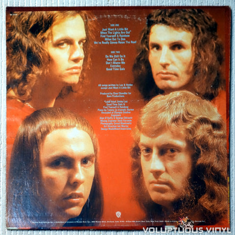 Slade ‎– Stomp Your Hands, Clap Your Feet - Vinyl Record - Back Cover