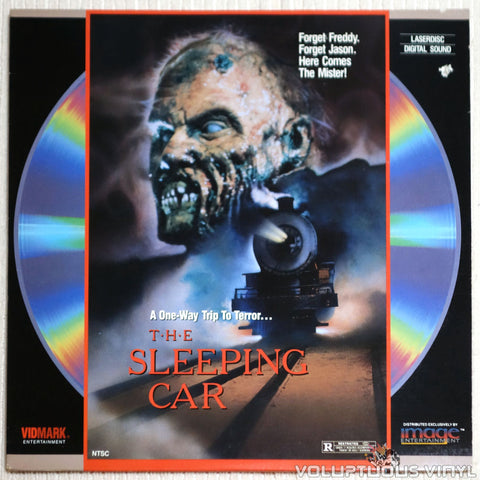The Sleeping Car - Laserdisc - Front Cover