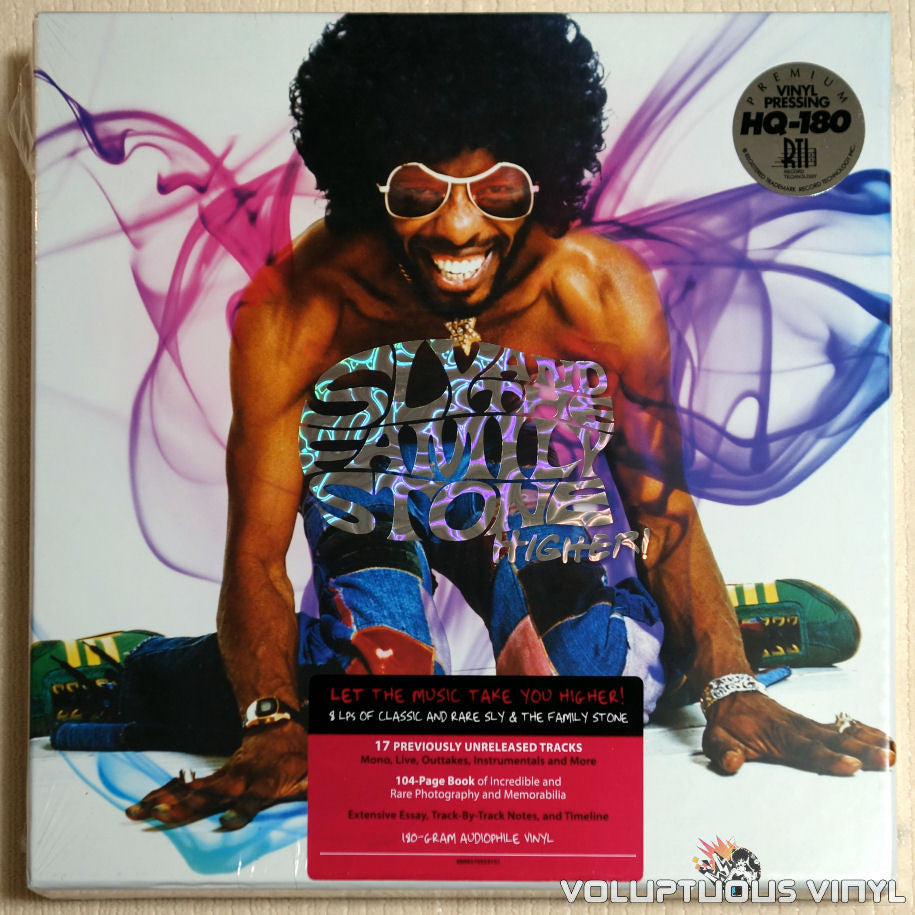 Sly And The Family Stone ‎– Higher! - Vinyl Record - Front Cover