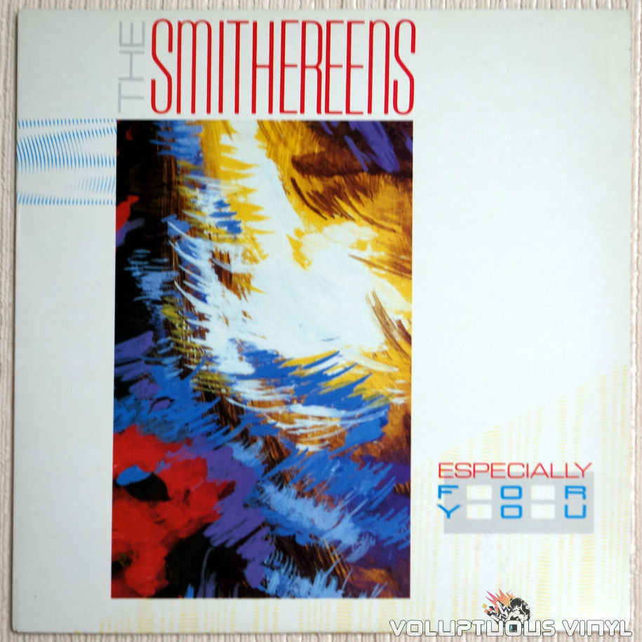 The Smithereens ‎– Especially For You - Vinyl Record - Front Cover