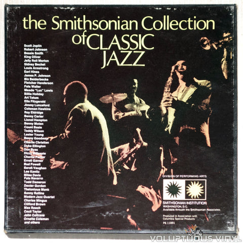The Smithsonian Collection Of Classic Jazz - Vinyl Record - Front Cover