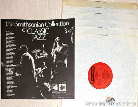 The Smithsonian Collection Of Classic Jazz - Vinyl Records