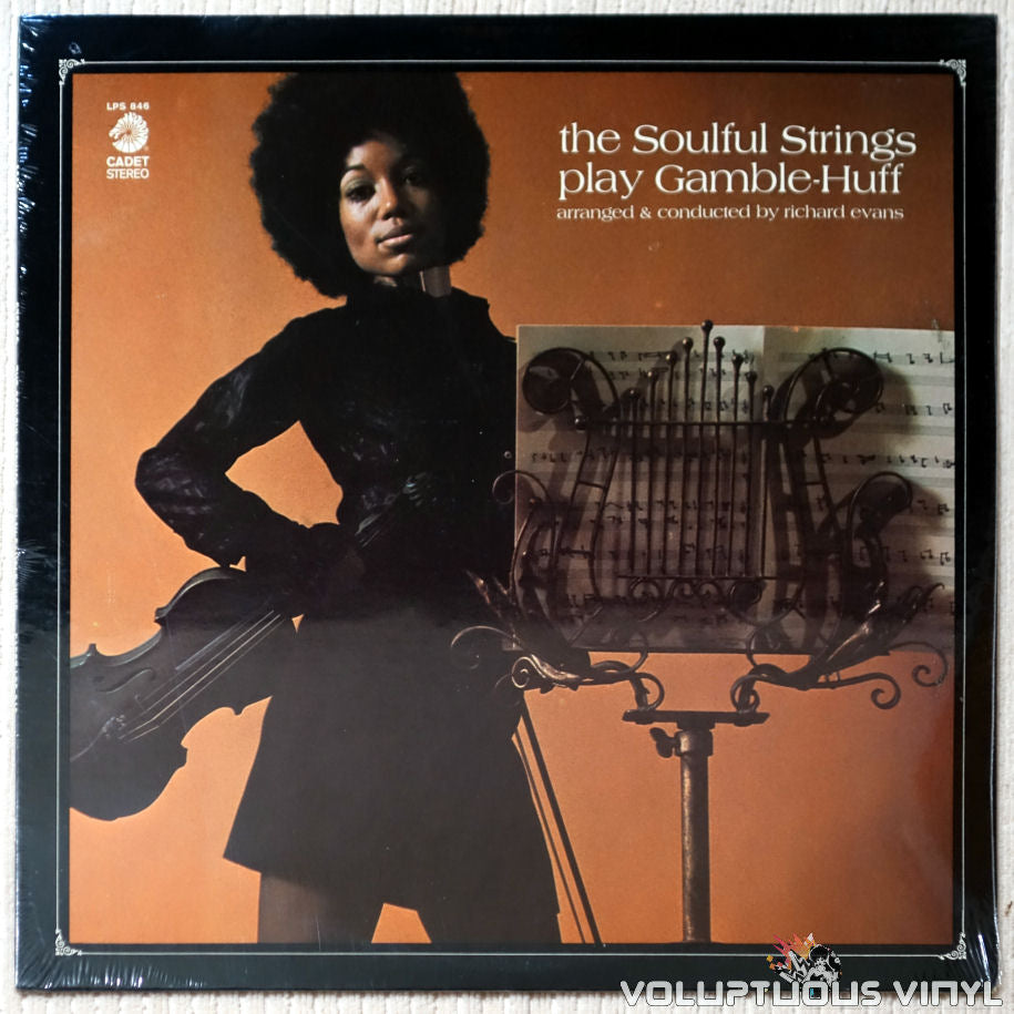 The Soulful Strings ‎– The Soulful Strings Play Gamble-Huff - Vinyl Record - Front Cover