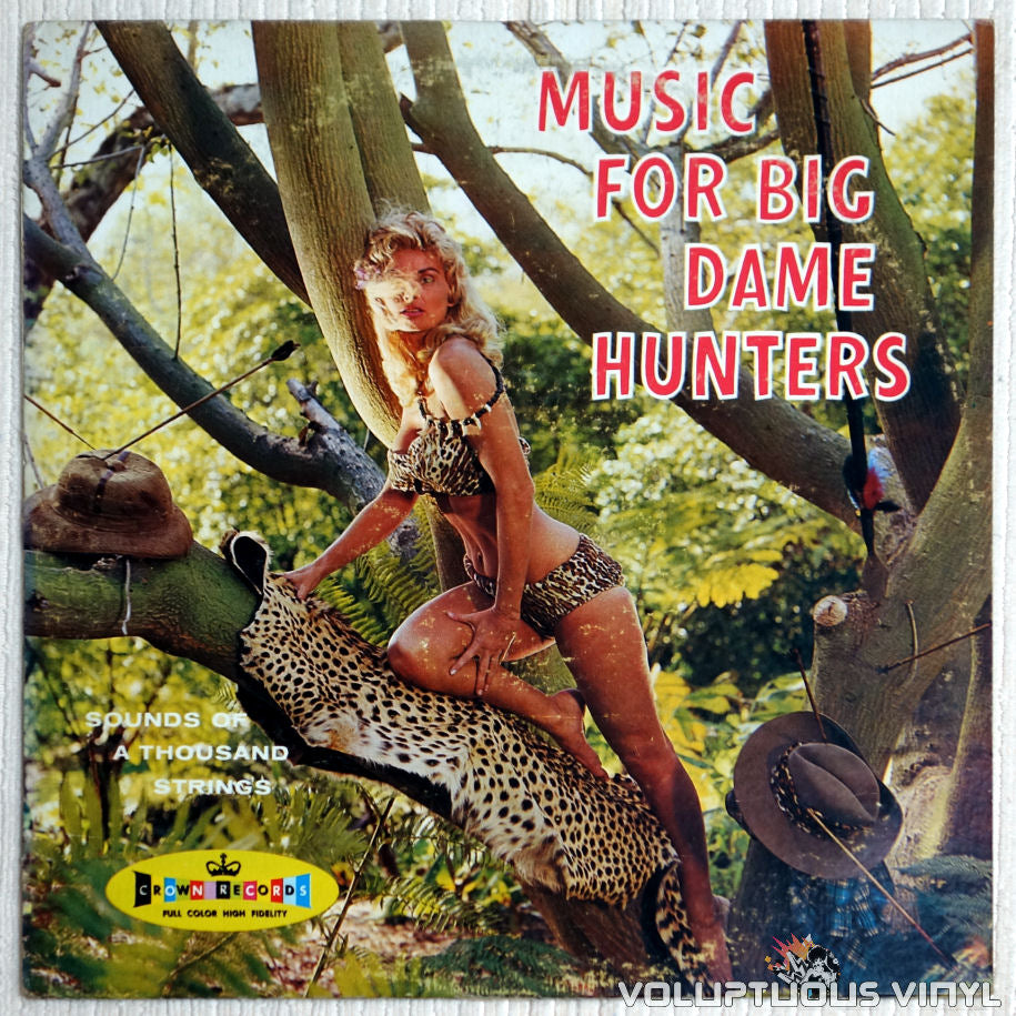 Sounds Of A Thousand Strings ‎– Music For Big Dame Hunters - Vinyl Record - Front Cover