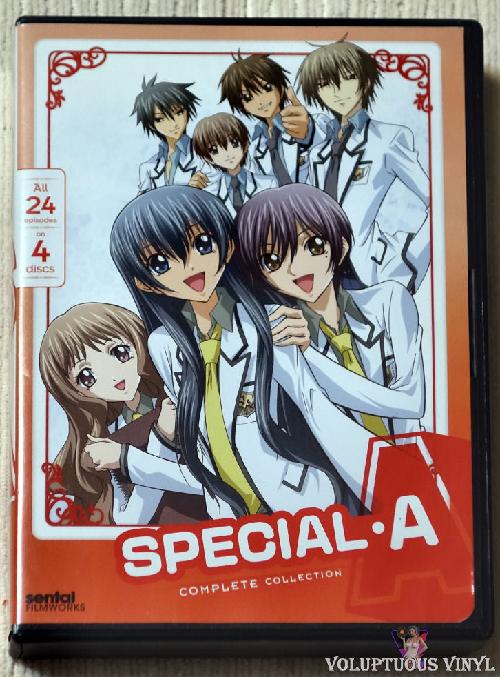 Special A: Complete Collection DVD front cover