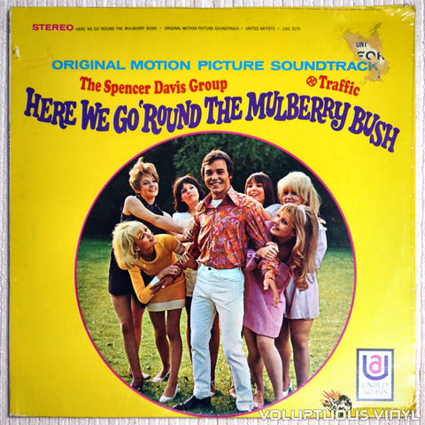 The Spencer Davis Group / Traffic ‎– Here We Go 'Round The Mulberry Bush - Vinyl Record - Front Cover