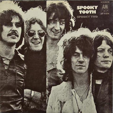 Spooky Tooth ‎– Spooky Two vinyl record front cover