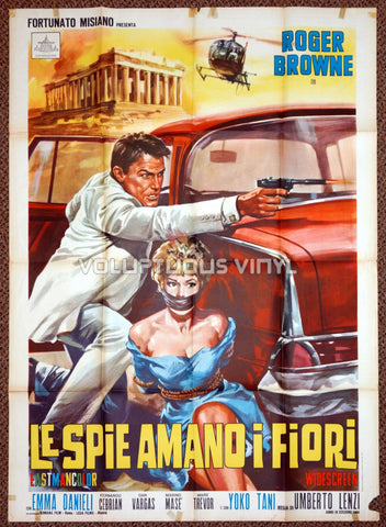 The Spy Who Loved Flowers 1966 Italian 2F