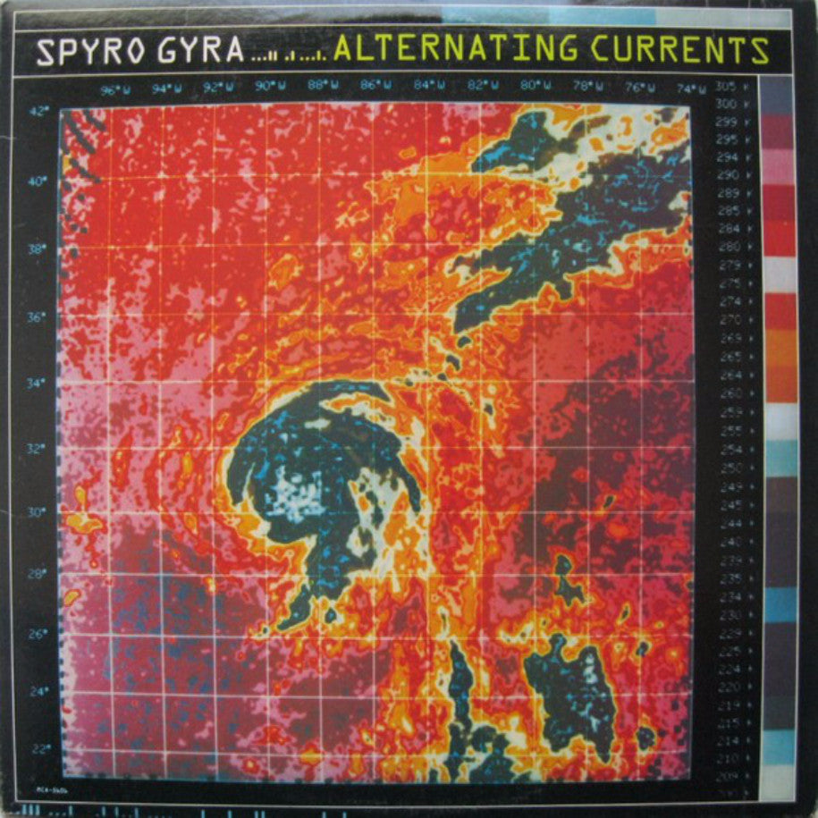 Spyro Gyra ‎– Alternating Currents - Vinyl Record - Front Cover