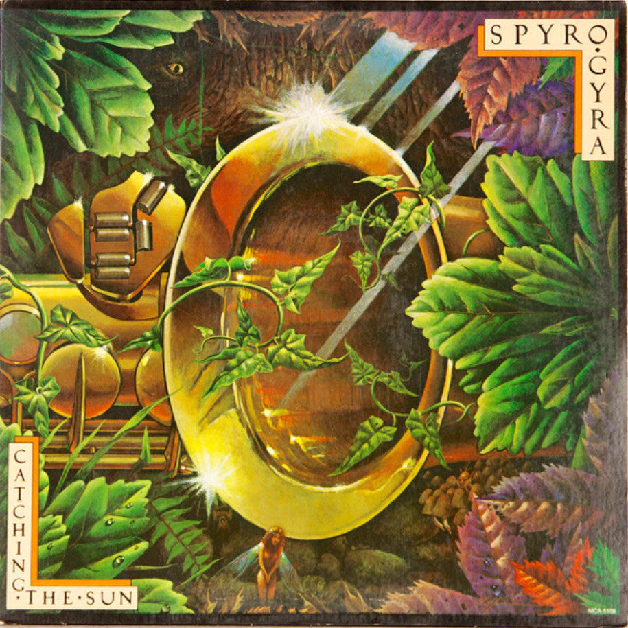 Spyro Gyra ‎– Catching The Sun - Vinyl Record - Front Cover