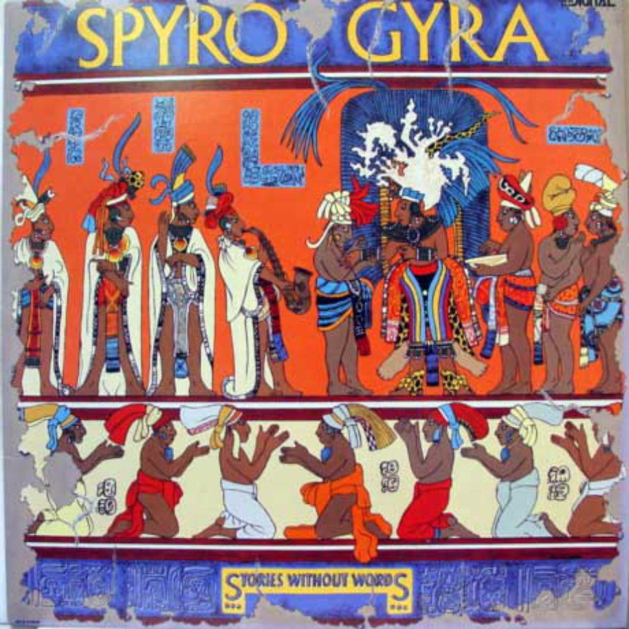 Spyro Gyra ‎– Stories Without Words - Vinyl Record - Front Cover