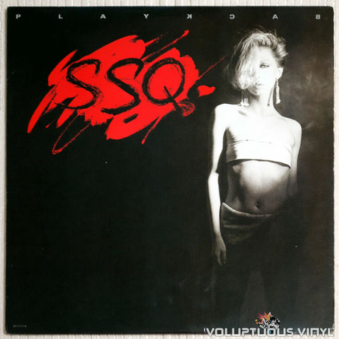 SSQ ‎– Playback - Vinyl Record - Front Cover