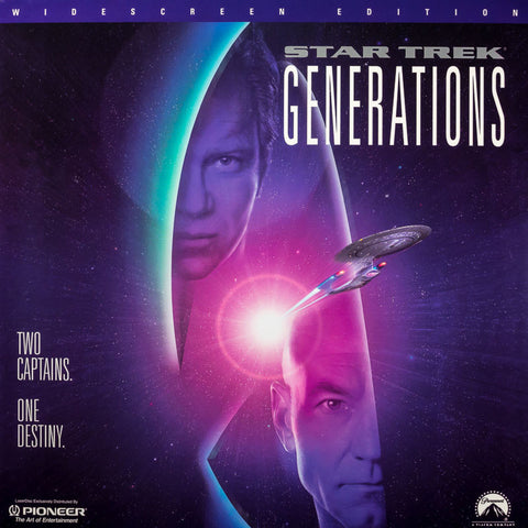 Star Trek VII: Generations (1994) LaserDisc