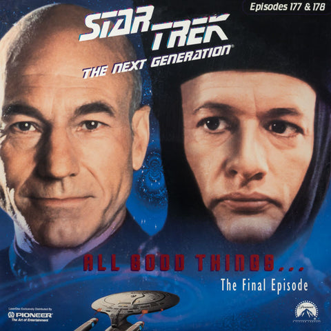 Star Trek Next Generation #177/178: All Good Things #1 & 2 LaserDisc