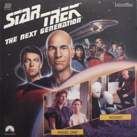 Star Trek Next Generation #015/16: Angel One/11001001 LaserDisc