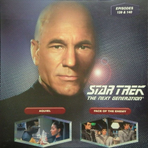 Star Trek Next Generation #139/140: Aquiel/Face of the Enemy LaserDisc