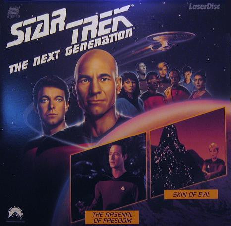 Star Trek Next Generation #021/22: The Arsenal Of Freedom/Skin Of Evil LaserDisc