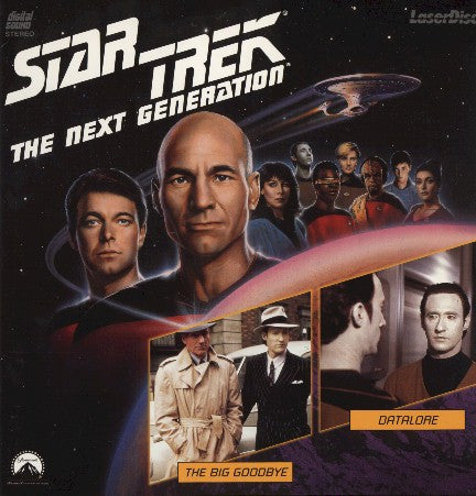 Star Trek Next Generation #013/14: Big Goodbye/Datalore LaserDisc