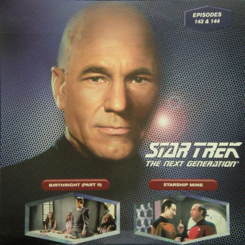 Star Trek Next Generation #143/144: Birthright #2/Starship Mine LaserDisc