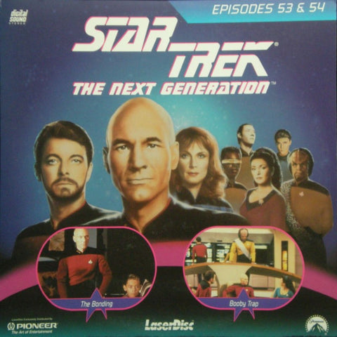 Star Trek Next Generation #053/54: the Bonding/Booby Trap LaserDisc