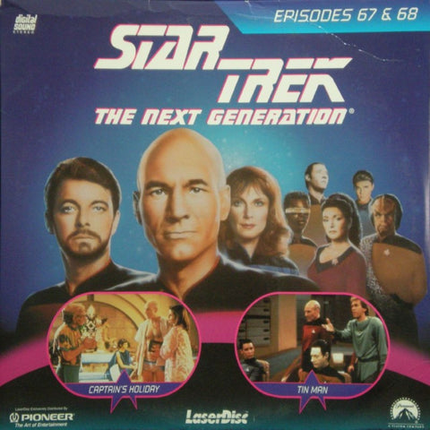 Star Trek Next Generation #067/68: Captain's Holiday/Tin Man LaserDisc