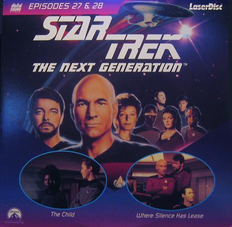 Star Trek Next Generation #027/28: Child/Where Silence Has Lease LaserDisc