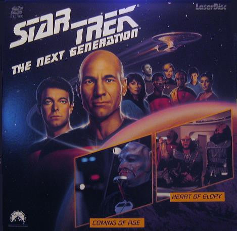 Star Trek Next Generation #019/20: Coming Age/Heart Glory LaserDisc