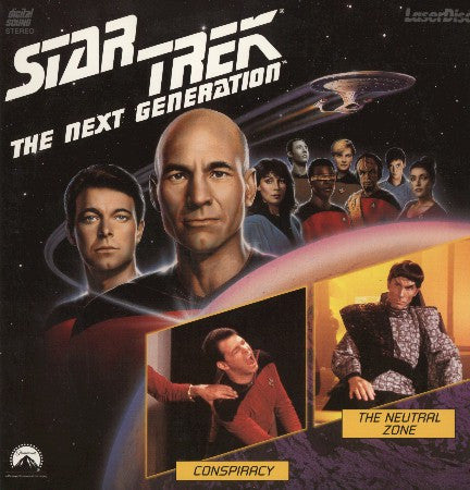 Star Trek Next Generation #025/26: Conspiracy/Neutral Zone LaserDisc