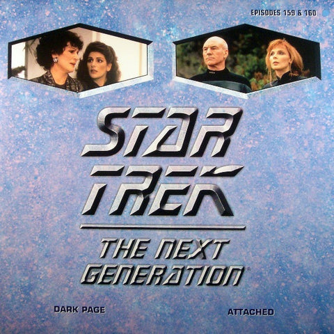 Star Trek Next Generation #159/160: Dark Page/Attached LaserDisc