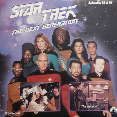 Star Trek Next Generation #085/86: Data's Day/The Wounded LaserDisc