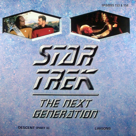 Star Trek Next Generation #153/154: Descent #2/Liaisons LaserDisc