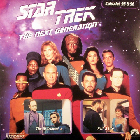 Star Trek Next Generation #095/96: the Drumhead/Half A Life LaserDisc