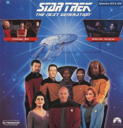 Star Trek Next Generation #103/104: Ensign Ro/Silicon Avatar LaserDisc