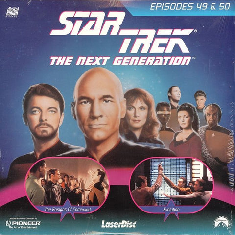 Star Trek Next Generation #049/50: Ensigns of Command/Evolution LaserDisc