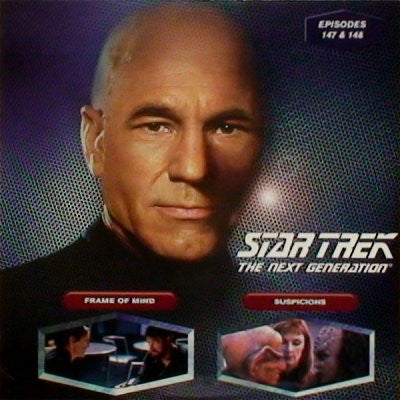 Star Trek Next Generation #147/148: Frame of Mind/Suspicions LaserDisc