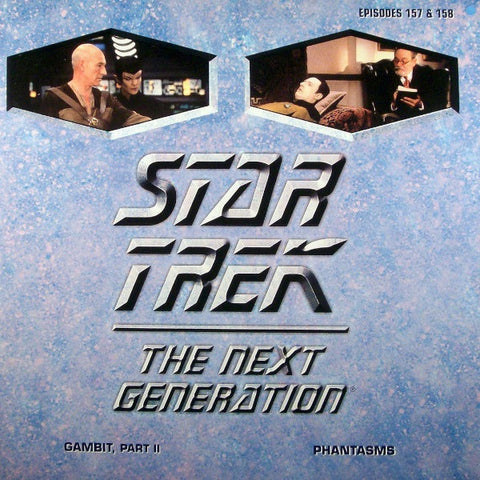 Star Trek Next Generation #157/158: Gambit #2/Phantasms LaserDisc