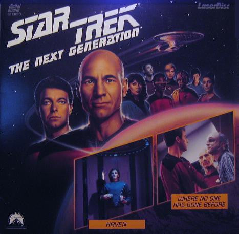 Star Trek Next Generation #005/6: Haven/Where No One Has Gone Before LaserDisc