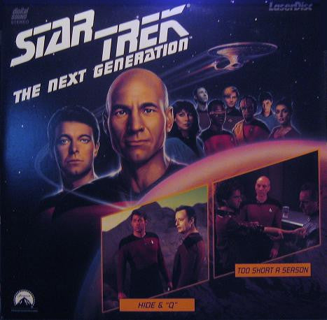 Star Trek Next Generation #011/12: Hide & Q/Too Short A Season LaserDisc