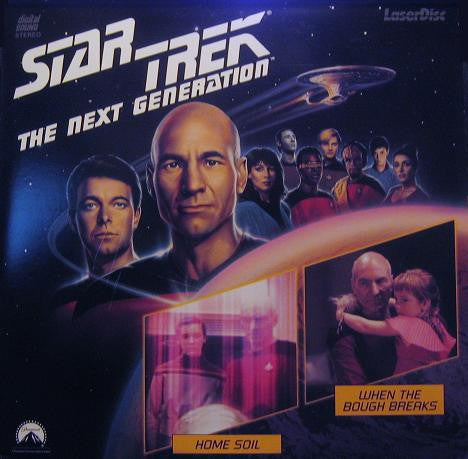 Star Trek Next Generation #017/18: Home Soil/Bough Breaks LaserDisc