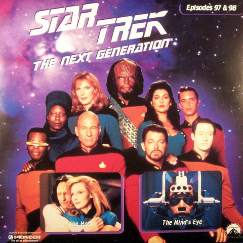 Star Trek Next Generation #097/98: the Host/The Mind's Eye LaserDisc