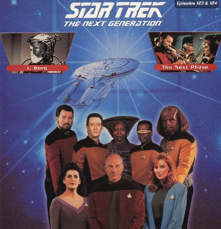 Star Trek Next Generation #123/124: I, Borg/The Next Phase LaserDisc