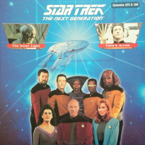 Star Trek Next Generation #125/126: the Inner Light/Time's Arrow #1 LaserDisc