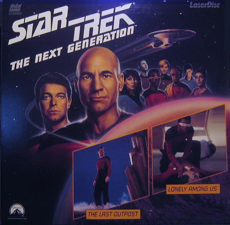 Star Trek Next Generation #007/8: Last Outpost/Lonely Among Us LaserDisc
