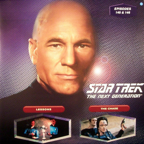 Star Trek Next Generation #145/146: Lessons/The Chase LaserDisc