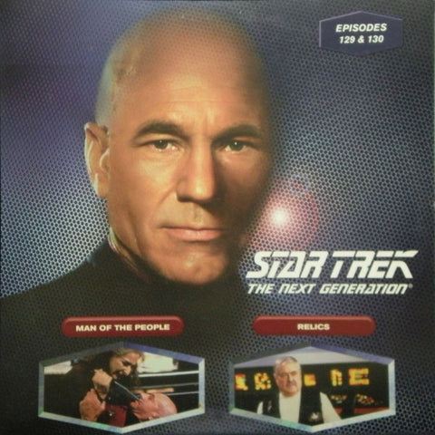 Star Trek Next Generation #129/130: Man of the People/Relics LaserDisc