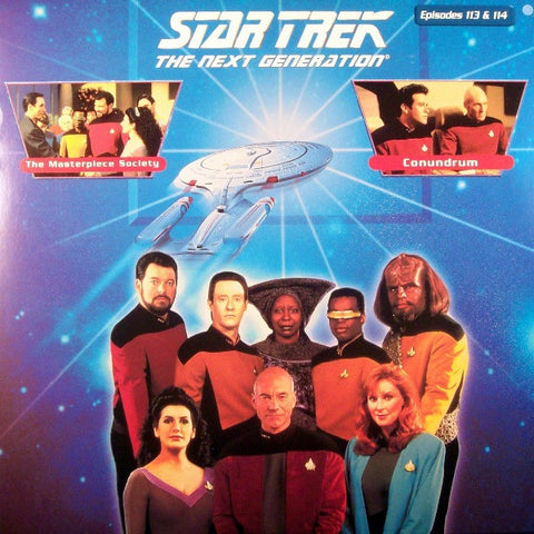 Star Trek Next Generation #113/114: Masterpiece Society/Conundrum LaserDisc