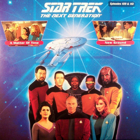 Star Trek Next Generation #109/110: Matter of Time/New Ground LaserDisc