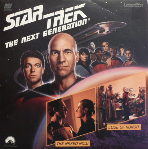 Star Trek Next Generation #003/4: Naked Now/Code Honor (1987) LaserDisc