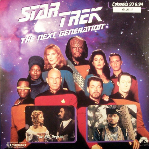 Star Trek Next Generation #093/94: the Nth Degree/Q-pid LaserDisc