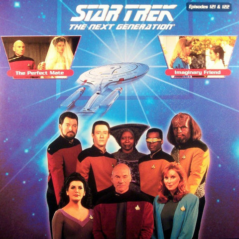 Star Trek Next Generation #121/122: the Perfect Mate/Imaginary Friend LaserDisc
